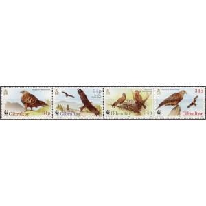 Gibraltar - linnud WWF 1996, **