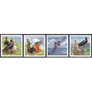 Christmas Island - linnud WWF, puhas