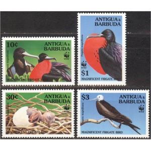Antigua ja Barbuda - linnud WWF 1994, **