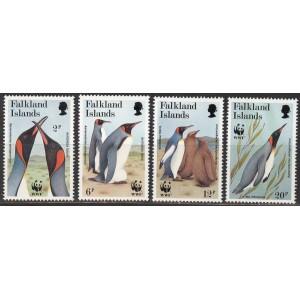 Falkland Islands - linnud WWF 1991, **