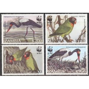 Zambia - linnud WWF 1996, **