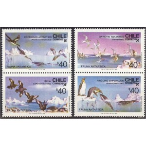 Tšiili - linnud 1986, **