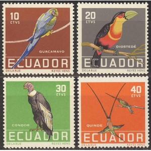 Ecuador - linnud 1958, **