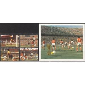 Saint Lucia - Espana ´82 jalgpalli MM, MNH