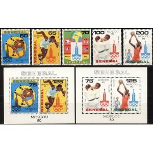Senegal - Moskva 1980 olümpia, **