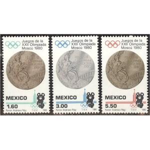 Mehhiko - Moskva 1980 olümpia, **