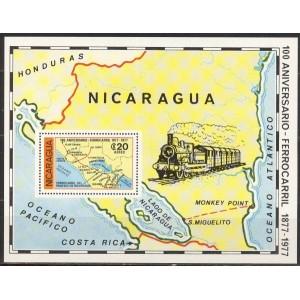 Nicaragua - rongid 1978, puhas
