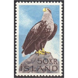 Island - linnud, kotkas 1966, **