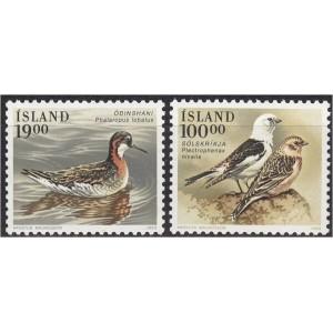 Island - linnud 1989, **