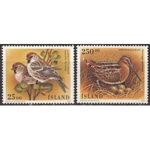 Island - linnud 1995, **