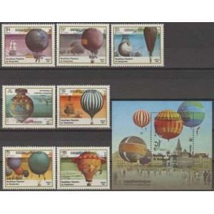 Kampuchea - õhupallid 1983, **