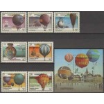 Kampuchea - õhupallid 1983, MNH