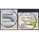 Eesti 1991. a. lipp ja maakaart
