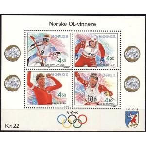 Norra - Lillehammer ´94, olümpiavõitjad (V), **