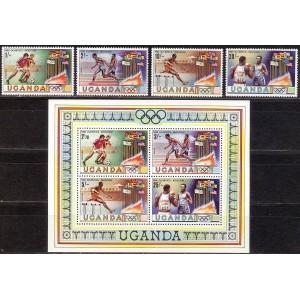 Uganda - Moskva 1980 olümpia, **