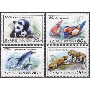 Põhja-Korea - loomad ja linnud 2010, **