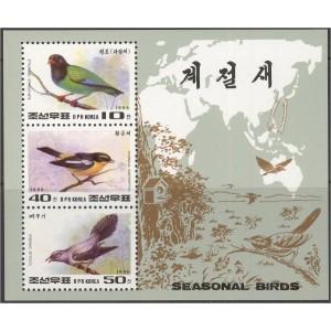 Põhja-Korea - linnud 1996 (I), **