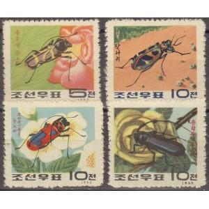 Põhja-Korea - putukad 1963, **