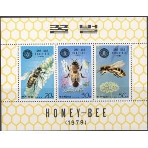 Põhja-Korea - mesilased 1979, väikep. **