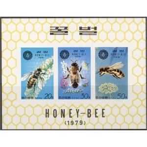 Põhja-Korea - mesilased 1979, lõig. väikep. **