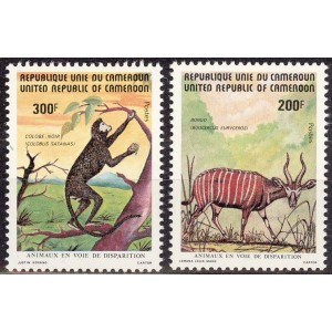 Kamerun - loomad 1982, **