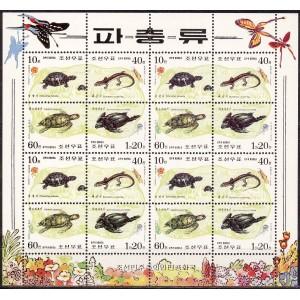 Põhja-Korea - kahepaiksed, kilpkonnad 1998, **
