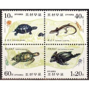 Põhja-Korea - kilpkonnad 1998, **