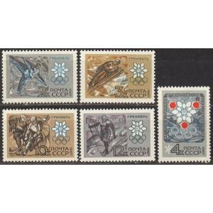 NSVL - Grenoble 1968 olümpia, **