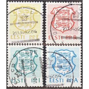 Eesti - 1992 Eesti vapp I, templiga