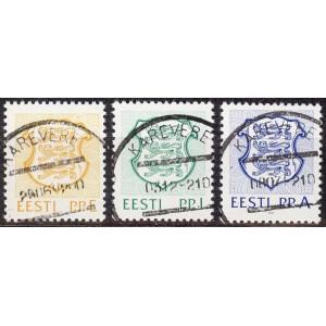 Eesti - 1992 Eesti vapp II, templiga
