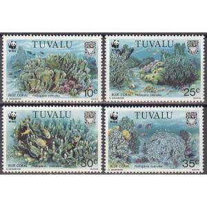 Tuvalu - korallid, kalad WWF 1992, **