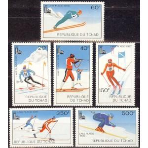 Tchad - Lake Placid 1980 olümpia, **