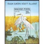 Ungari - linnud 1980, lõigatud **