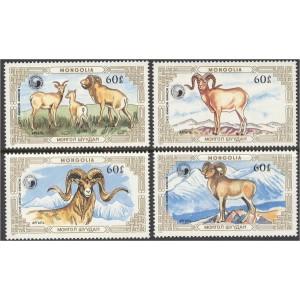 Mongoolia - loomad 1987, **