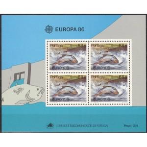 Portugal - kalad, Europa 1986, **