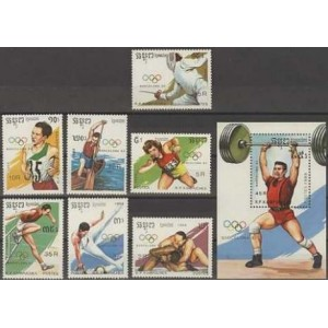 Kampuchea - Barcelona 1992 olümpia (III), **