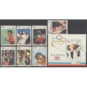 Kampuchea - Barcelona 1992 olümpia (II), **