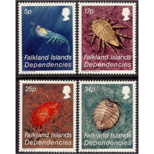 Falkland Islands Dependencies - krabid 1984, **