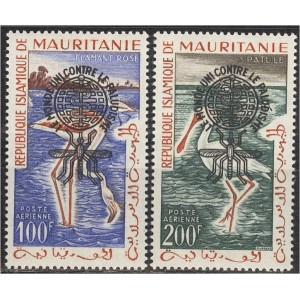Mauritania - linnud 1962 ületrükk, **
