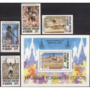 Kongo - Moskva 1980 olümpia (II), **