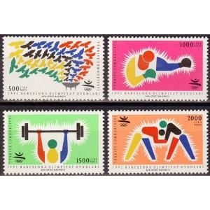 Türgi - Barcelona 1992 olümpia, **