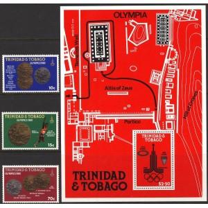 Trinidad ja Tobago - Moskva 1980 olümpia, **