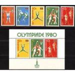 Zambia - Moskva 1980 olümpia, **