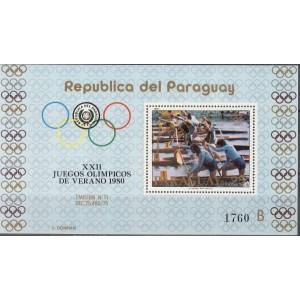 Paraguay - Moskva 1980 olümpia, **