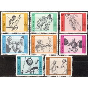 Rwanda - Moskva 1980 olümpia, **