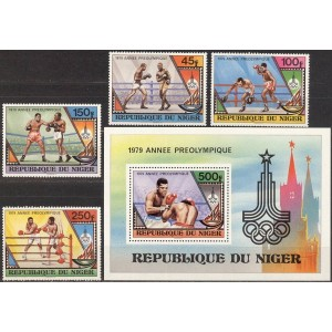 Niger - Moskva 1980 olümpia (I), **