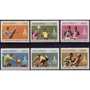 Mosambiik - Moskva 1980 olümpia, **