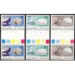 Grenadines of St.Vincent - linnud 1980, paarid **