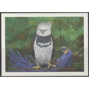 Guyana - linnud 1990, **