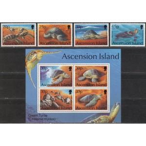 Ascension Island - kilpkonnad 1994, **